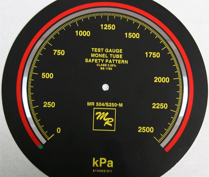 Dials For Pressure Gauges Amp Mirror Dials Bedford Dials